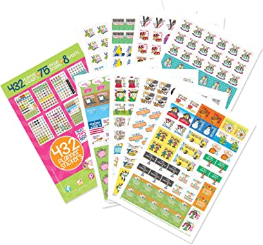 Great for Planners Journals /& Scrapbooks My Minds Eye Date /& Label Stickers