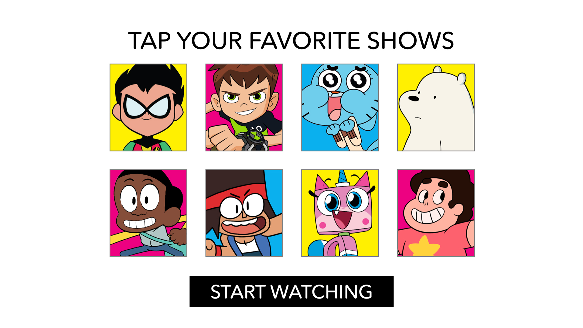 Amazon Com Cartoon Network App Watch Videos Clips And Full Episodes Of Your Favorite Shows Appstore For Android