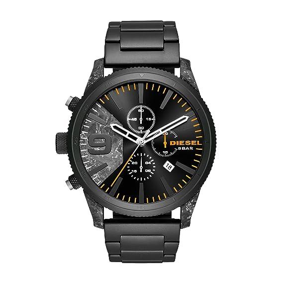 Diesel Reloj Cronógrafo para Hombre de Cuarzo con Correa en Acero Inoxidable DZ4469