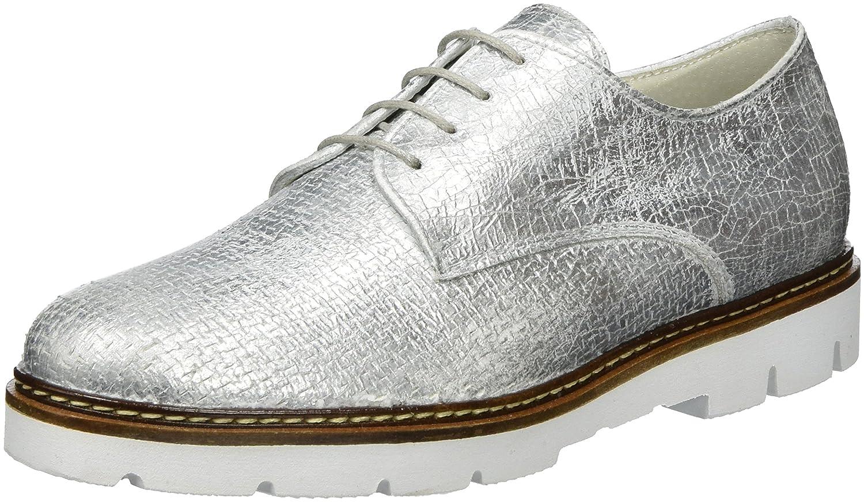 Gabor Shoes 61.461, Zapatos Derby Mujer 42.5 EU|Plateado (Ice 71)