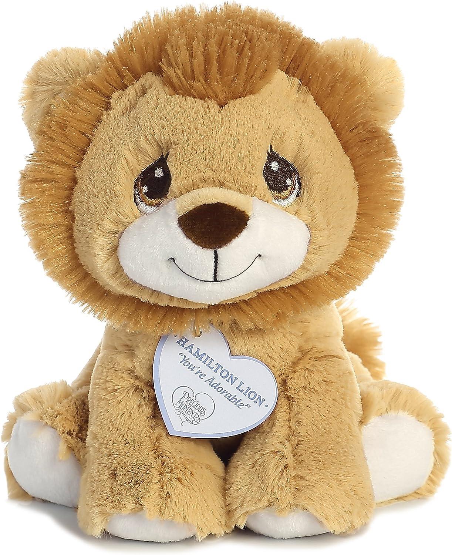 "Aurora - Precious Moments - 8.5"" Hamilton Lion, Tan"