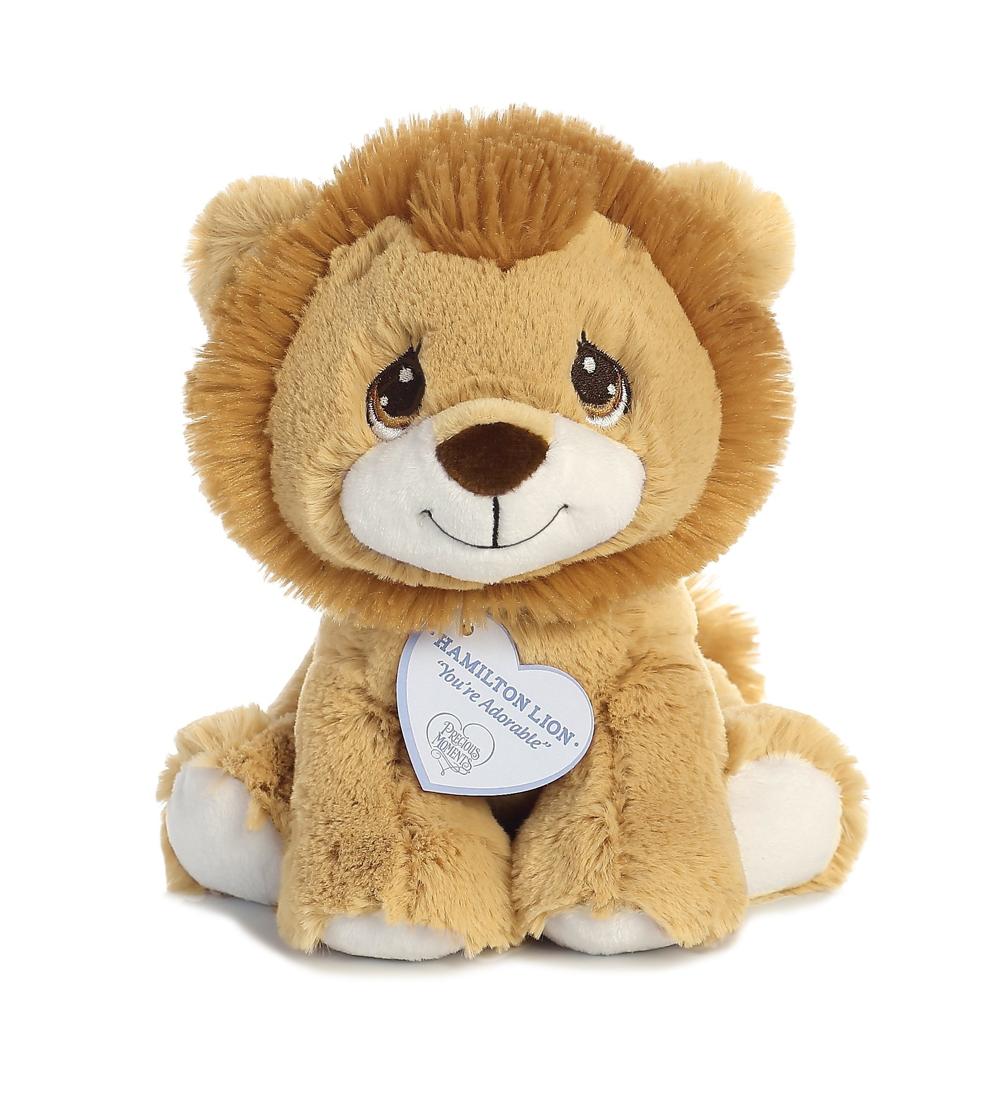 Hamilton Lion 8 inch - Baby Stuffed Animal by Precious Moments (15710) by AURORA