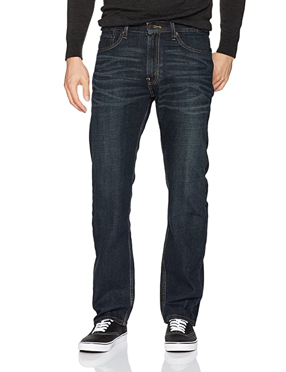 Signature by Levi Strauss & Co. Gold Label Regular Men's Fit Jeans, Westwood #1, 34W x 30L best men's denim jeans