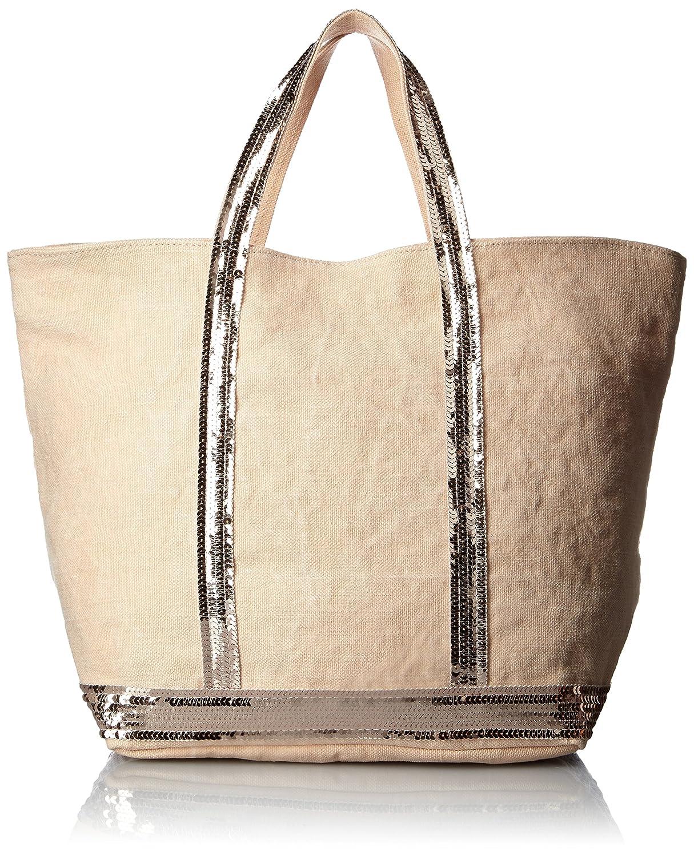 [ヴァネッサブリューノ] Amazon公式 正規品vanessabruno リネンスパンコールトートバッグ(M) B01ALPSQ22シャーベット