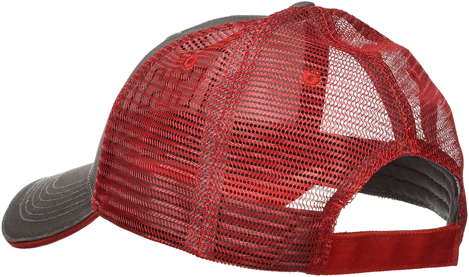 7283e561441 Amazon.com  Case IH Trucker Hat Cap in Charcoal and Red  Clothing