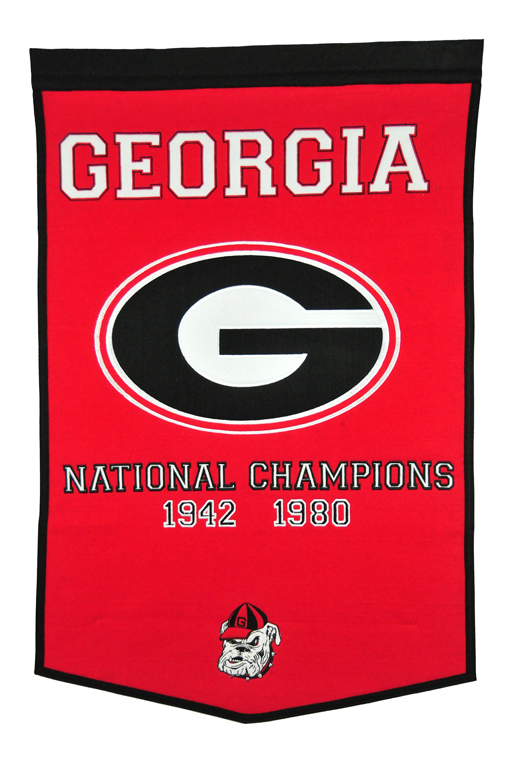 Winning Streak NCAA Georgia Bulldogs Dynasty Banner by Winning Streak