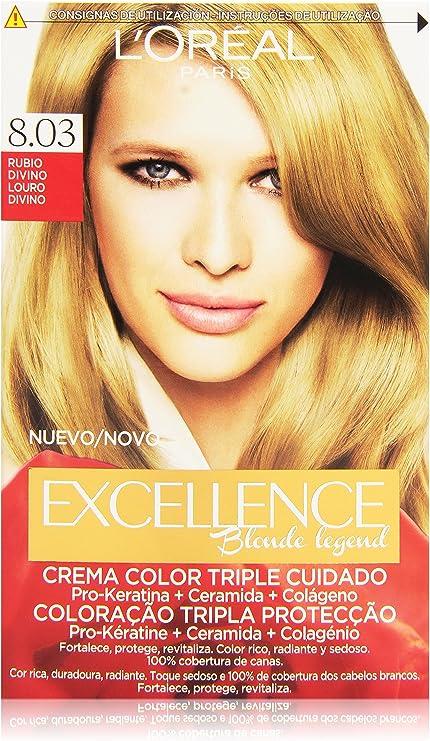 LOreal Paris Excellence Blonde Legend Crema Color Triple ...
