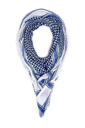 c2e45c9ce7b Mohavy Blue Unisex Premium Shemagh Keffiyeh | Men Women Head Scarf |  Oversized Scarves | Tactical Desert Warp | Military Gear Summar Winter  Bandana