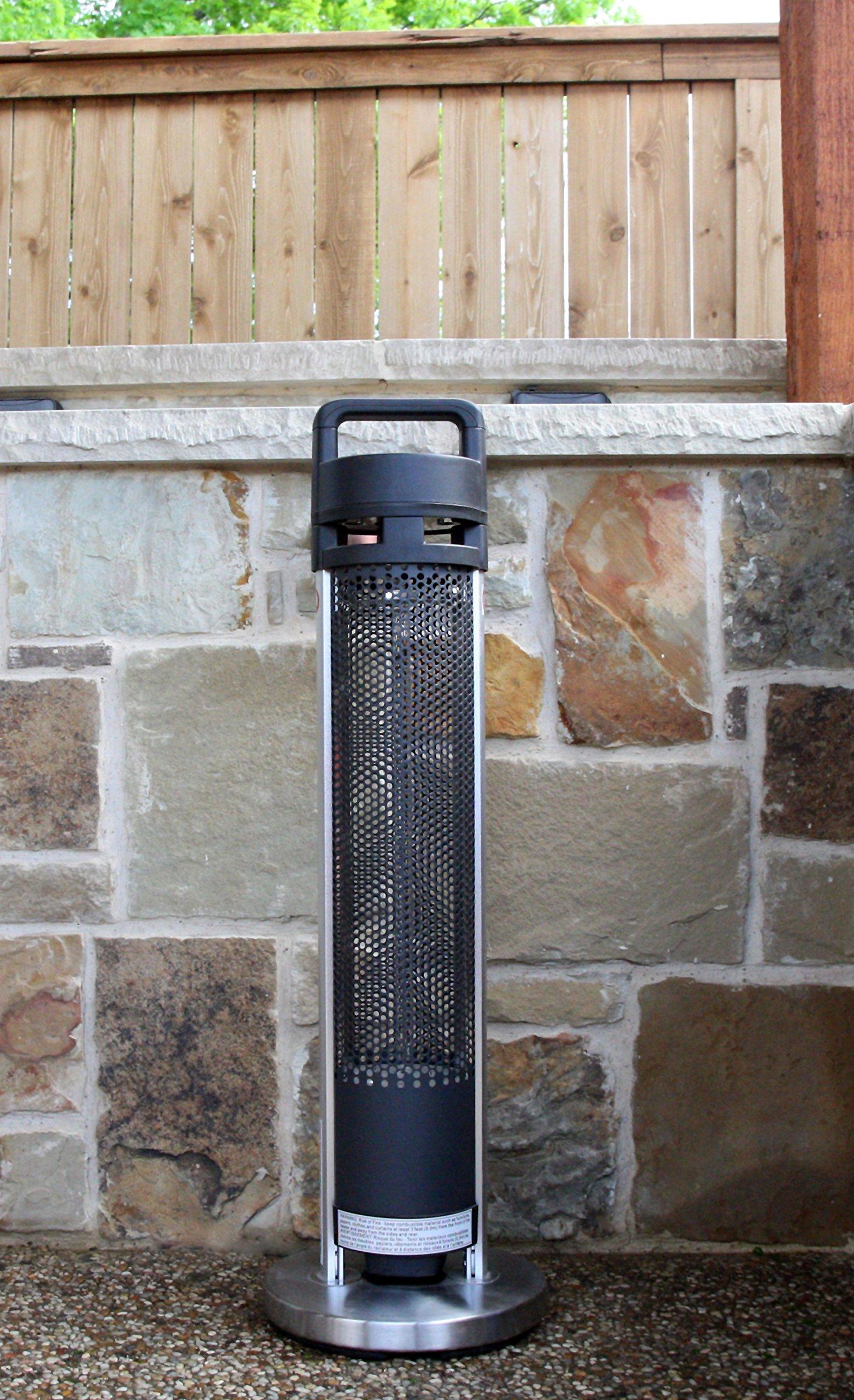 Hetr H1014ups Indoor Outdoor Rated Radiant Tower Heater