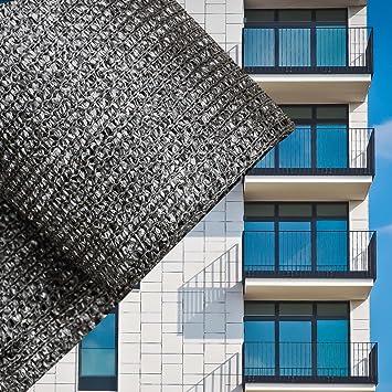Sichtschutz Balkonsichtschutz Anthrazit 75cm Balkonverkleidung Windschutz Balkon