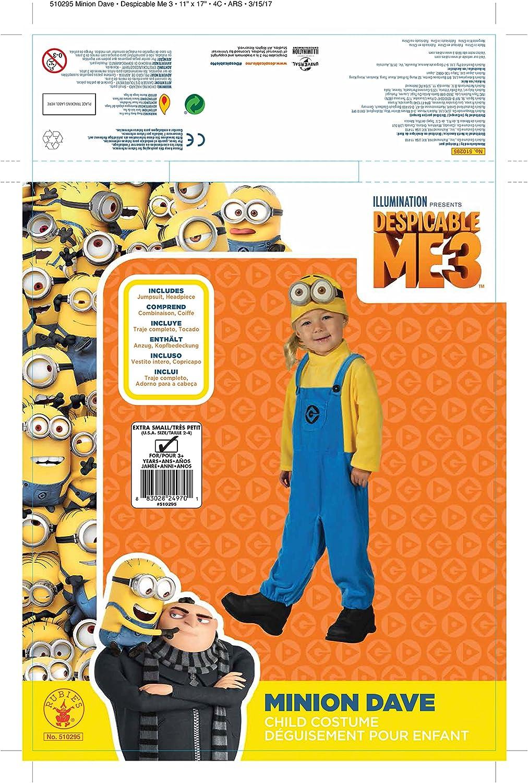 Minion Dave Toddler Costume