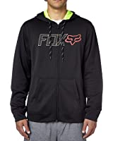 Fox Racing Mens Spark Plug Fleece Hoody Zip Sweatshirt