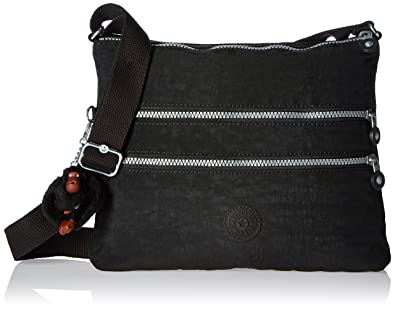 Kipling Luggage Alvar Crossbody Bag, Black, One Size  Handbags ... 35633ac899