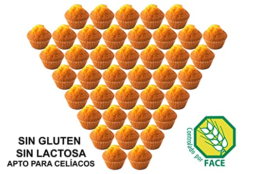 Magdalenas Artesanas Sin Gluten, Sin Lactosa. Apto para ...
