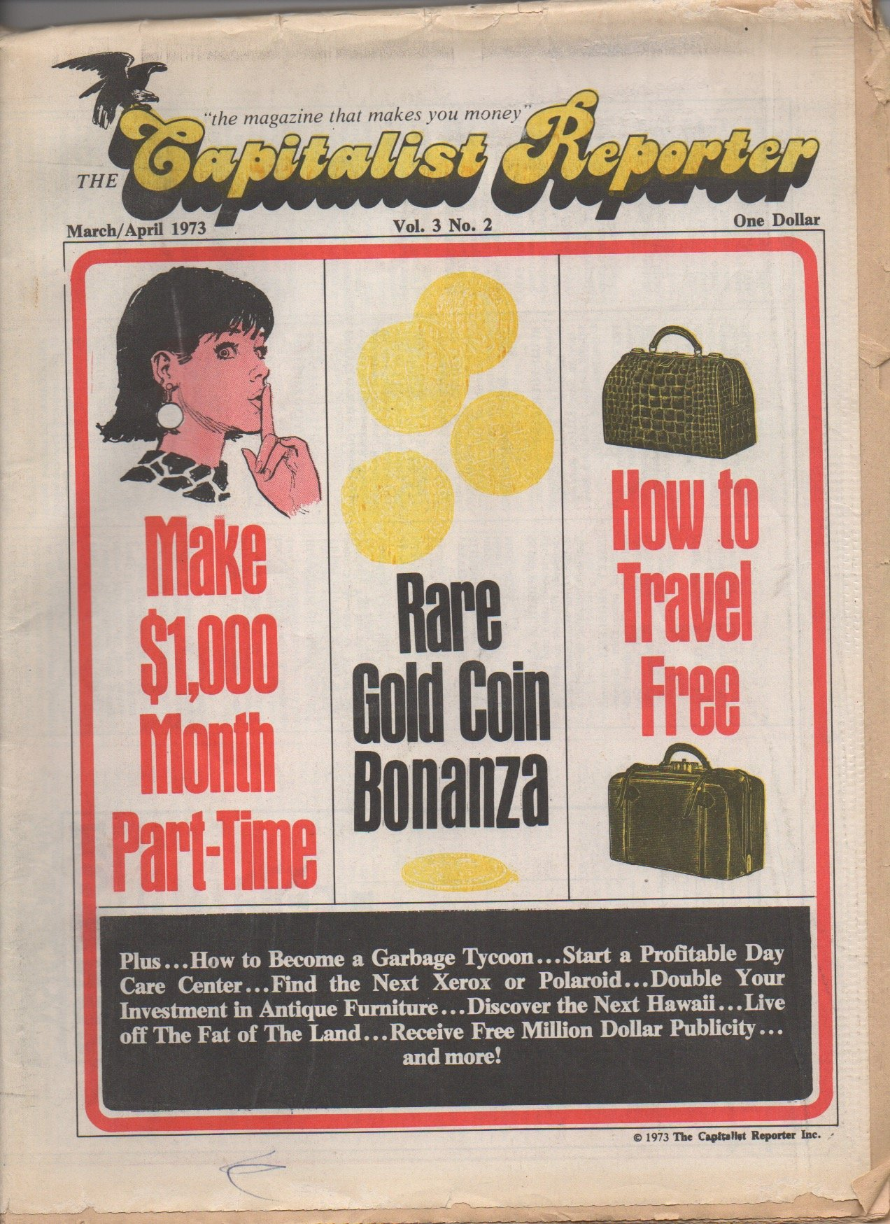 The Capitalist Reporter, vol  3, no  2 (March/April 1973