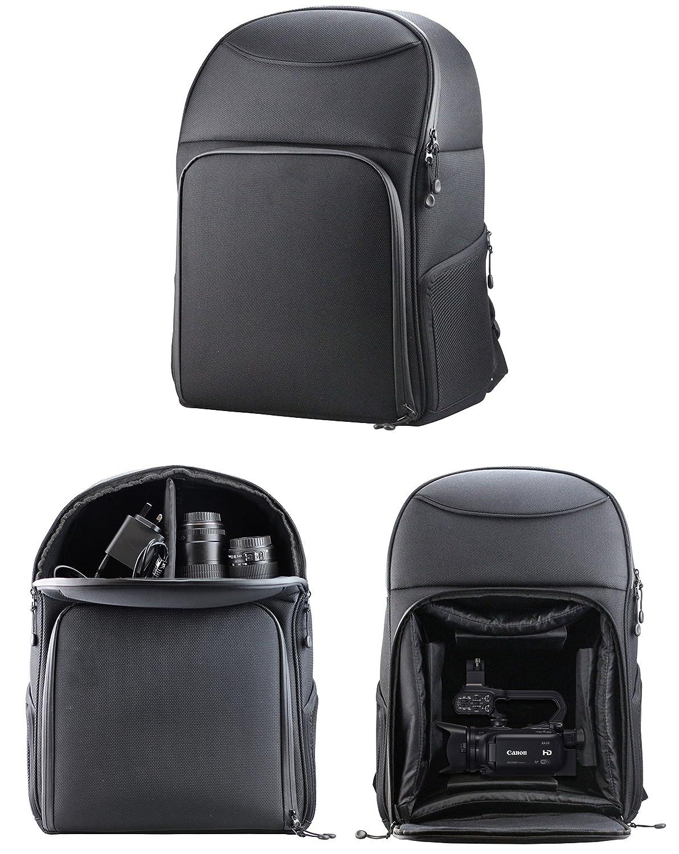 b709f9b77c04 Navitech Rugged Black & Blue Carry Backpack / Rucksack / Case For Sony  PXW-X70 + 4K Upgrade Kit (CBKZ-X70FX) Camcorder / Camera