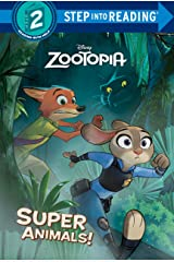 Super Animals! (Disney Zootopia) (Step into Reading) Hardcover