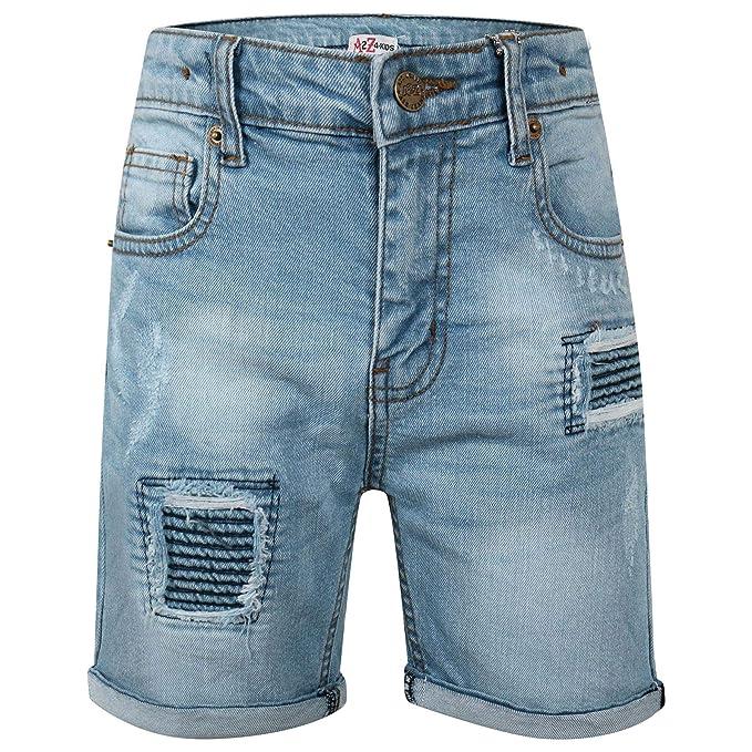 Amazon.com: A2Z Pantalones cortos vaqueros para niños ...