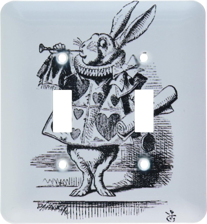 3dRose Lsp_193795_2 Alicia en el país de las maravillas conejo ...