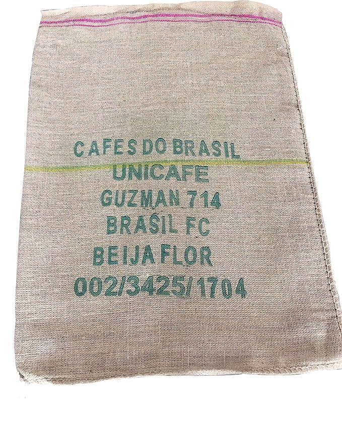 SABOREATE Y CAFE THE FLAVOUR SHOP Tela de Saco de Café de Origen Vietnam Reutilizado para Tapizar de Yute Arpillera 100% Natural (60 cm x 90 cm)