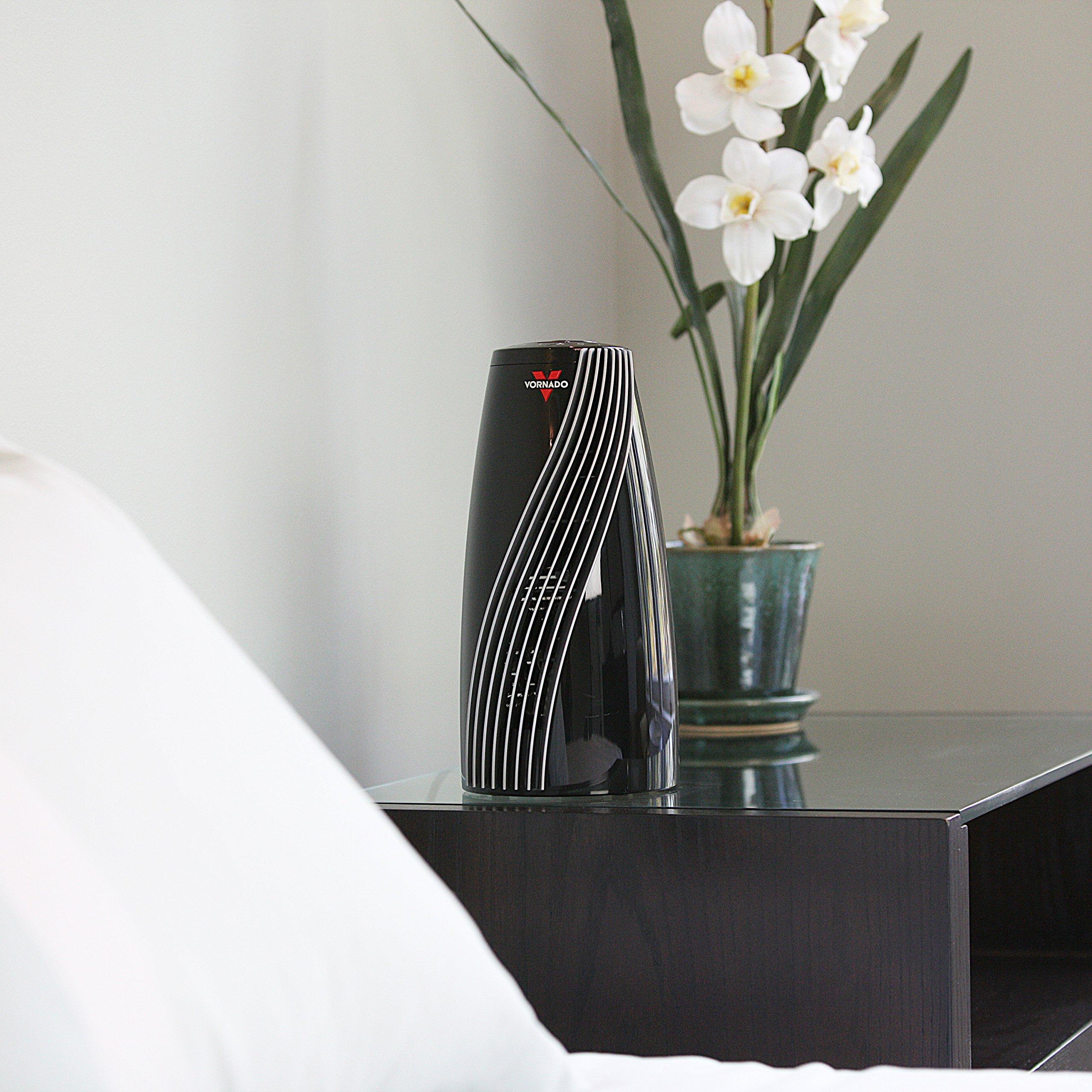 Vornado SRTH Small Room Tower Heater, Black