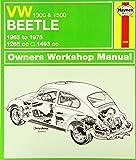 VW Beetle 1300 & 1500 (65 - 75) Haynes Repair Manual (Chilton)