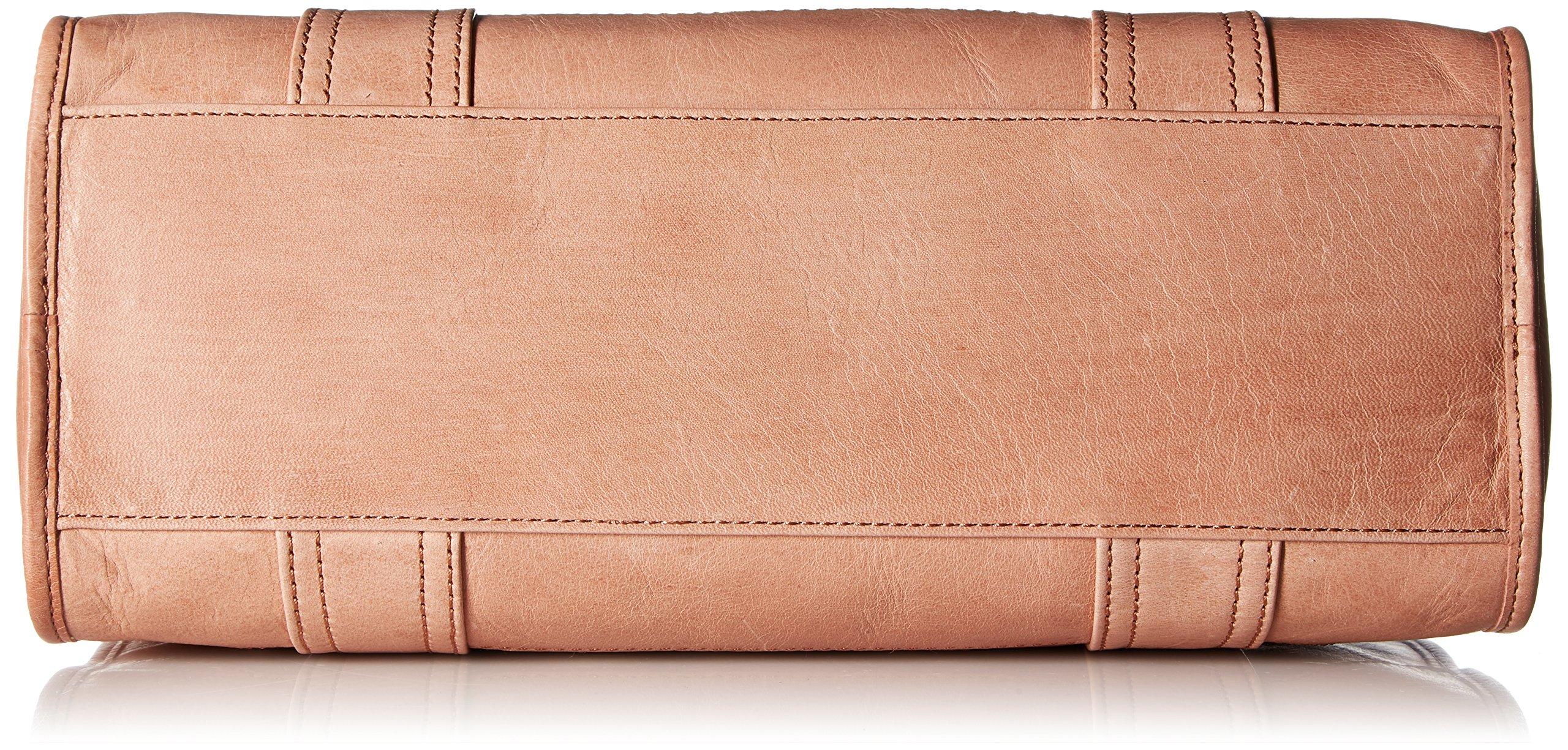 FRYE Melissa Zip Satchel Leather Handbag, dusty rose by FRYE (Image #4)