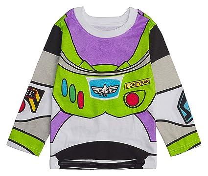 5c899a0e0 Toy Story Disney Long- Sleeve Costume T- Shirt -Buzz Lightyear, Woody -