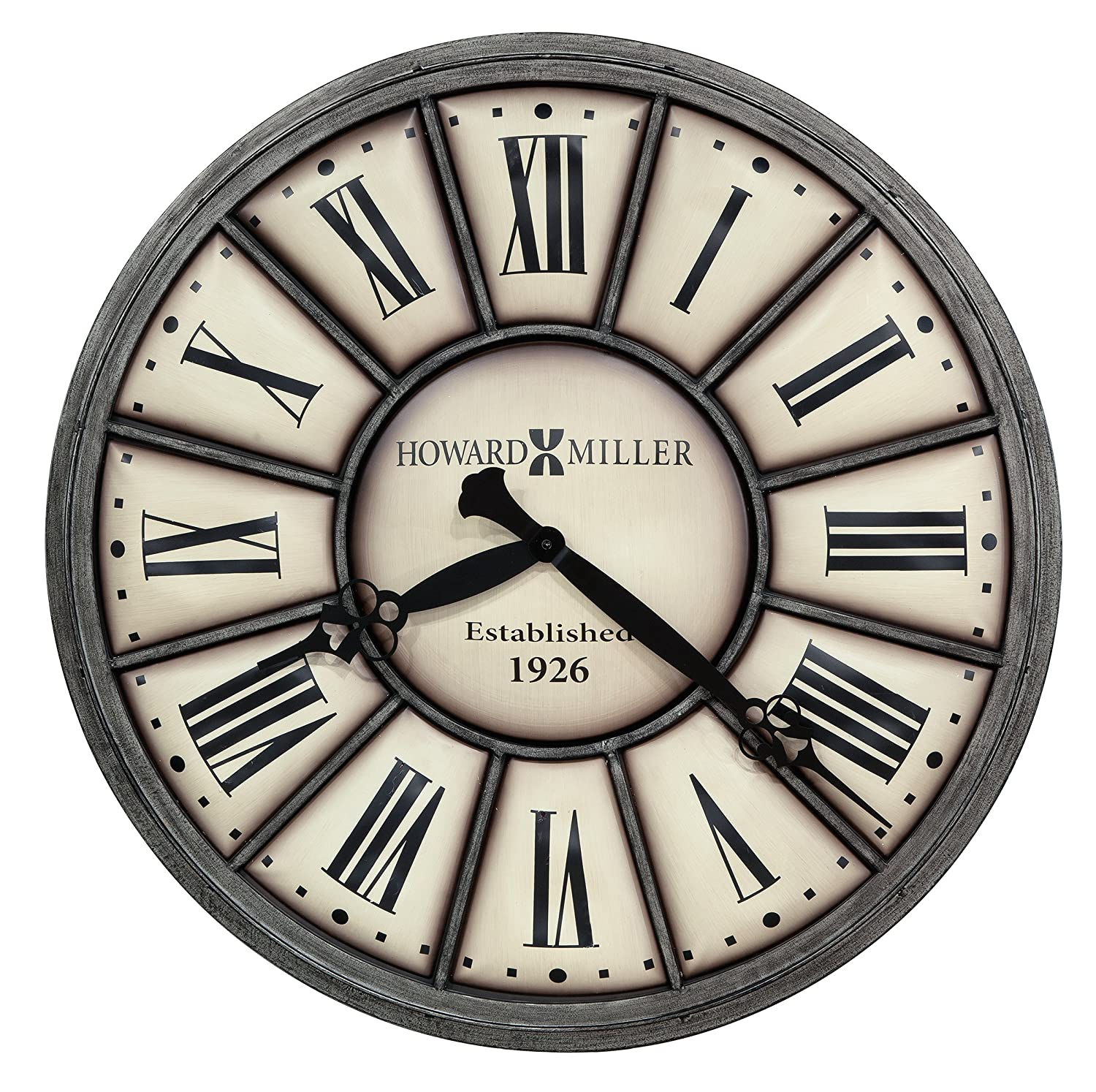 Amazon howard miller 625 613 company time ii wall clock home amazon howard miller 625 613 company time ii wall clock home kitchen amipublicfo Gallery