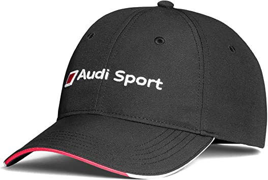 Audi 3131802300 - Gorra de béisbol Original, Color Negro: Amazon ...