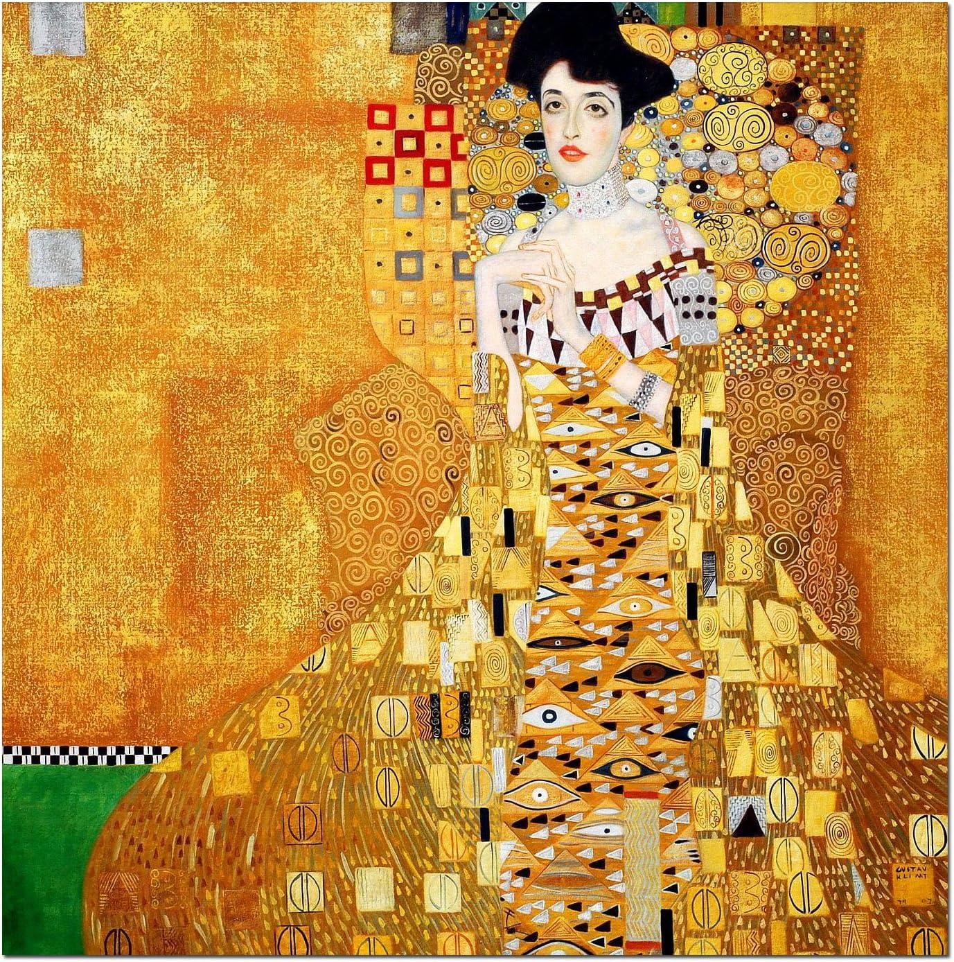 Gustav Klimt Adele Bloch Bauer 1 quadro stampa tela dipinto telaio arredo casa