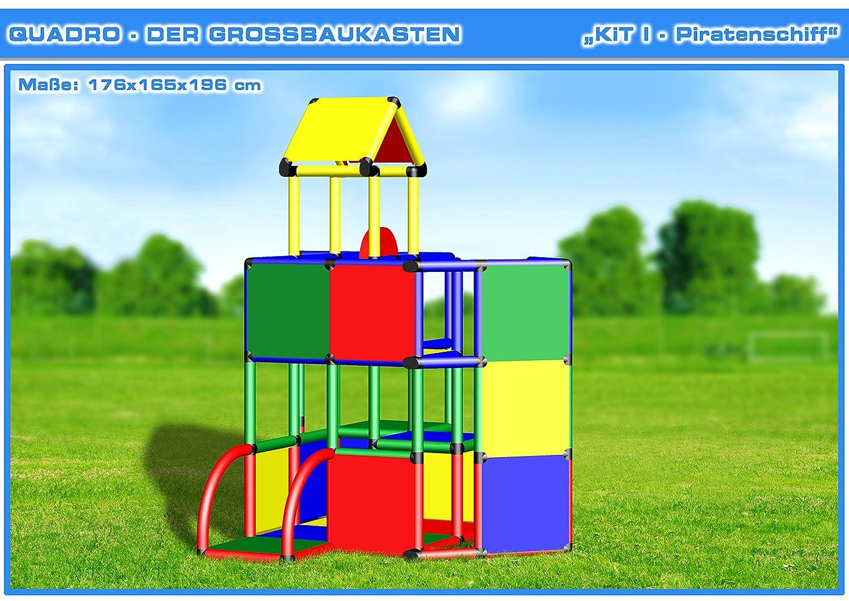 Klettergerüst Diy : Quadro kit i klettergerüst kletterturm: amazon.de: spielzeug