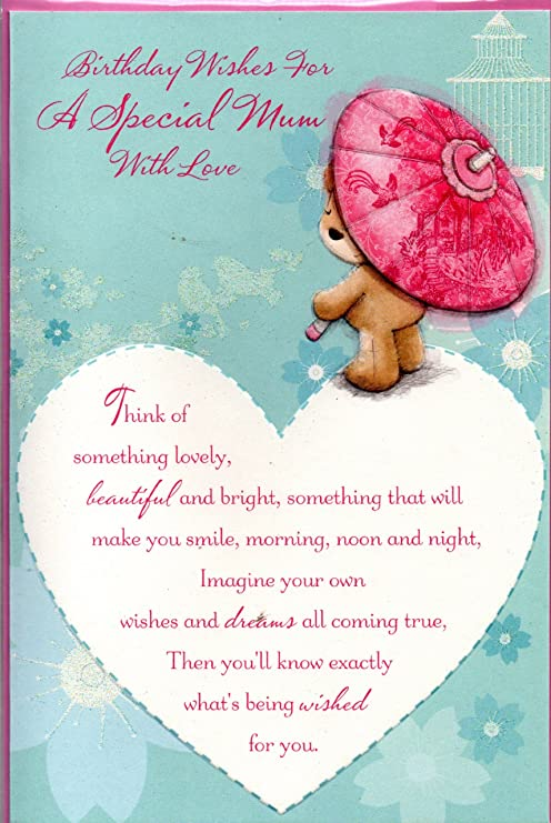 Madre Tarjeta de cumpleaños - cumpleaños Wishes For A ...