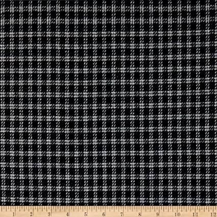 Amazoncom Tuva Textiles Wool Blend Coating Plaid Fabric White