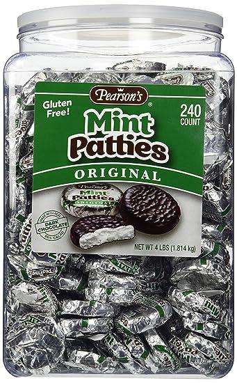 Amazon.com : Pearson's-Mint Patties, 240 Mint Patties : Candy ...