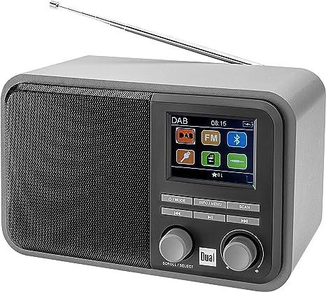 Dual Dab 51 - Radio Digital con batería y Bluetooth, Dab+/FM, MP3 ...