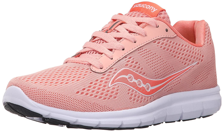 Saucony Women's Grid Ideal Running Shoe B018FDM4XE 9 B(M) US|Cor/White