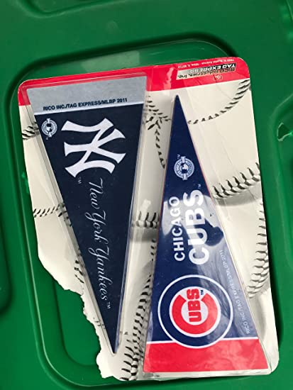 Amazon com : Rico MLB Mini Pennant Set, All MLB Teams, New : Sports
