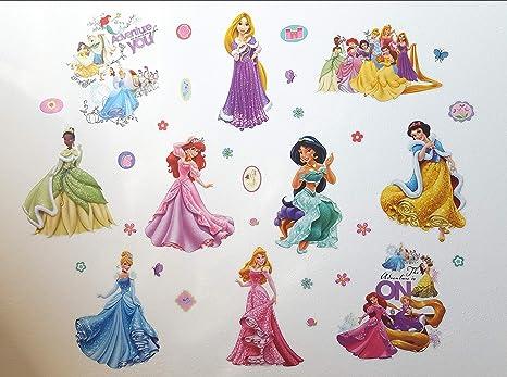 Kibi Stickers Muraux Princesses Disney Chambre D Enfants Stickers