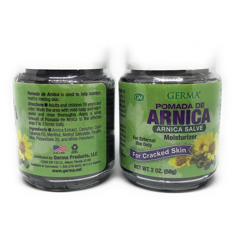 Arnica Ointment Black 2 oz       Pomada Arnica Salve Negra 2-PACK