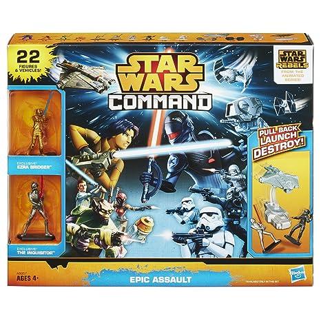 Amazoncom Star Wars Command Epic Assault Set Toys Games
