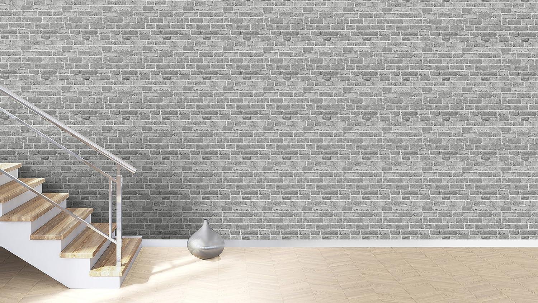 /Color Gris Juego de 12 Rasch paperhangings 217346/papel pintado pared que cubre/