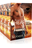 Blazing Hearts: Books 1-3