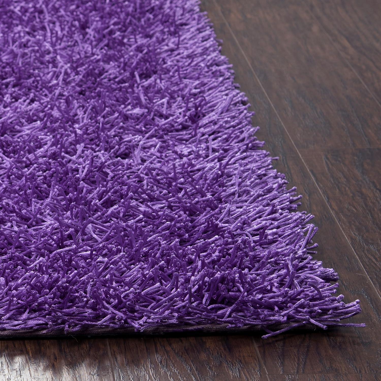 Kempton polyester area rug burgundy merlot colored 3 x3 area rugs - Amazon Com Riz Kidz Kempton Shag Rug Plum 5 X 7 Area Rugs Patio Lawn Garden