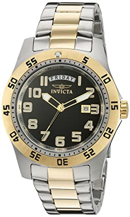 amazon com invicta men s 6692 ii collection 18k gold plated and