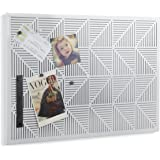 Umbra Trigon Metal Bulletin Board, White