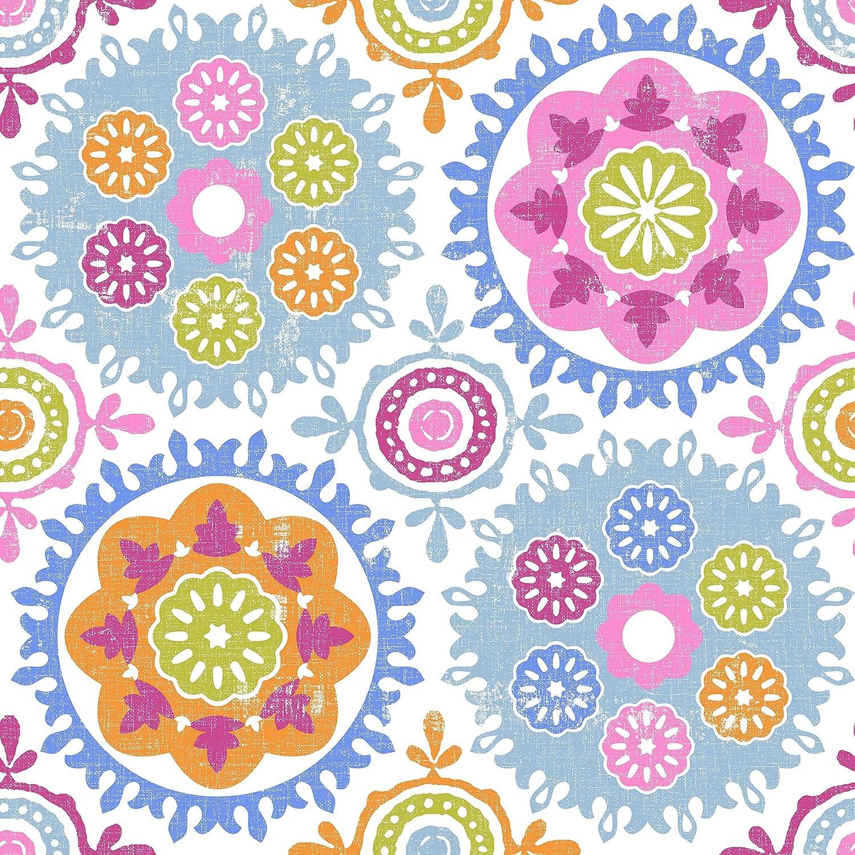 Poli/éster Todomueble Sof/ía Juego de Colcha Bout/í cama de 90 Multicolor