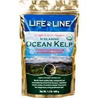 Life Line Pet Nutrition Organic Ocean Kelp Supplement for Skin & Coat, Digestion in Dogs & Cats,1.5lb, Model:20201