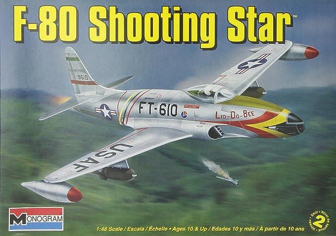 Revell Monogram 1:48 Scale F-80 Shooting Star Diecast Model Kit