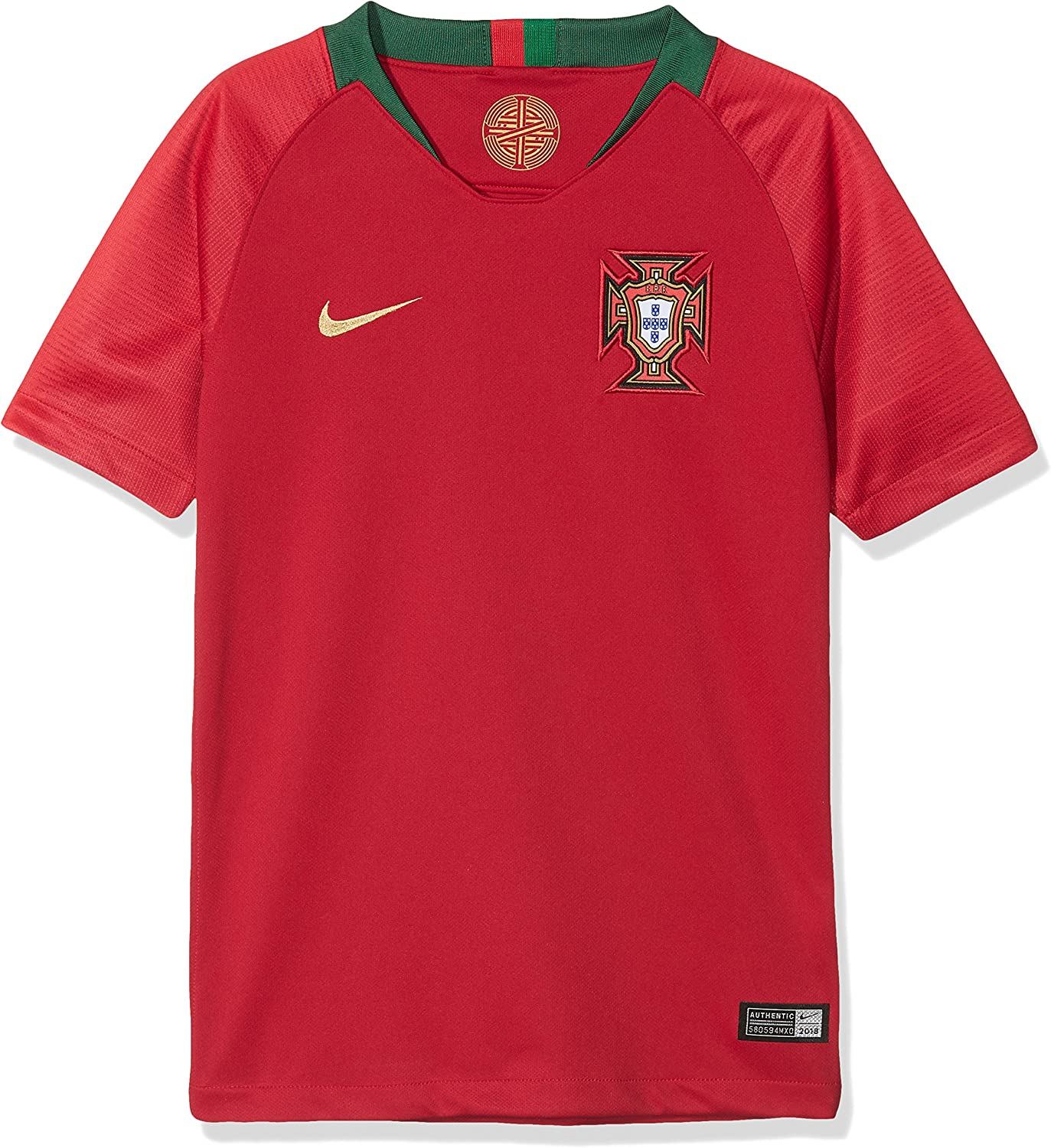 NIKE Youth Soccer Portugal Home Jersey
